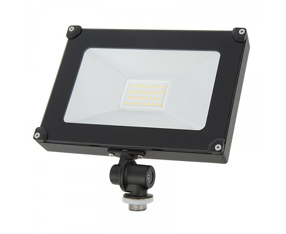 30 Watt Knuckle-Mount LED Flood Light - 4000K - 3,600 Lumens