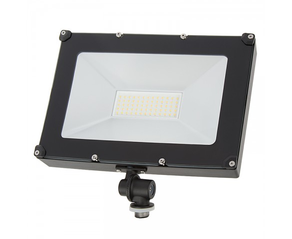 50 Watt Knuckle-Mount LED Flood Light - 4000K - 6,000 Lumens