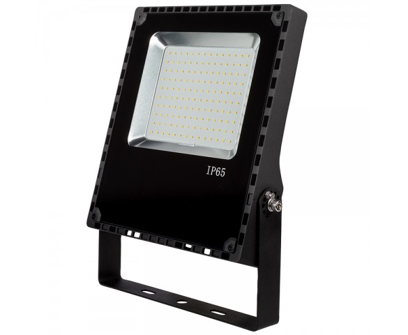 80 Watt LED Flood Light Fixture - 5000K/4000K - 175 Watt MH Equivalent - 9,600 Lumens