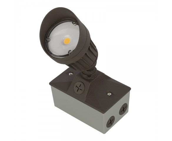 LED Landscape Flood Light w/ Junction Box - 750 Lumens