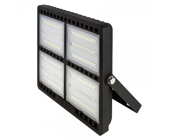 200 Watt LED Flood Light Fixture - Low Profile -  19,000 Lumens