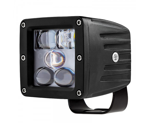 "LED Fog Light - 3"" Square - 13W - 1,700 Lumens"