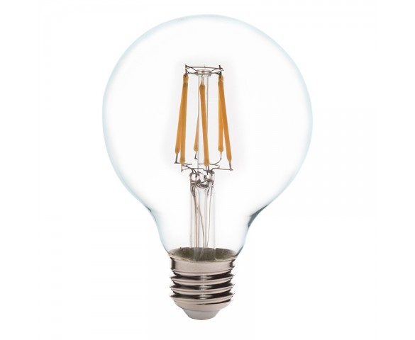 G25 LED Filament Bulb - 60 Watt Equivalent LED Vintage Light Bulb - Dimmable - 650 Lumens