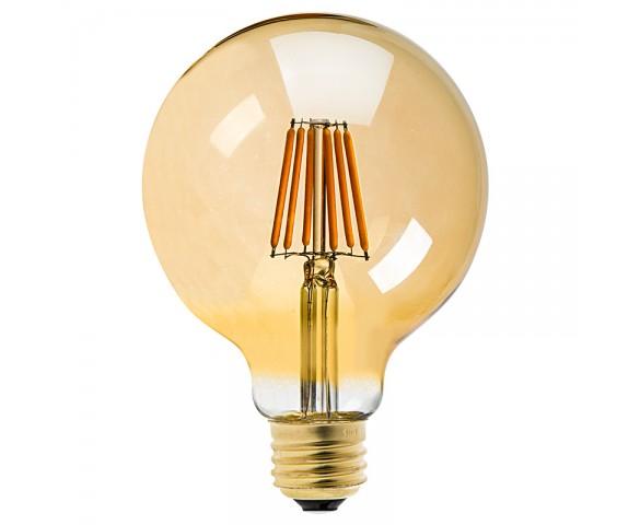 G30 Led Vanity Bulb Gold Tint Led Filament Bulb 40w Equivalent Dimmable 250 Lumens Super Bright Leds