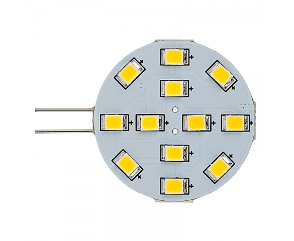 G4 LED Bulb - 12 LED - Bi-Pin LED Disc