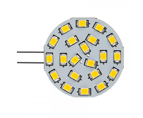G4 LED Bulb - 21 LED - Bi-Pin LED Disc