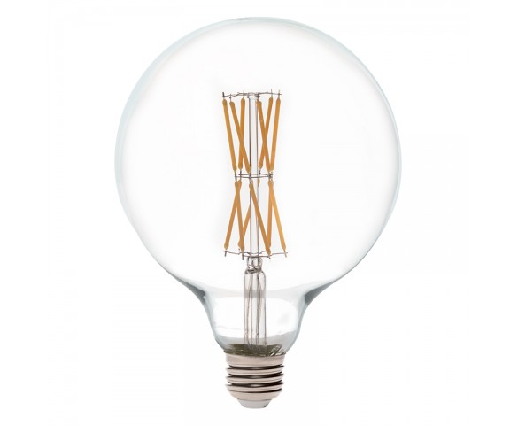 G40 LED Filament Bulb - 65 Watt Equivalent LED Vintage Light Bulb - Dimmable - 650 Lumens
