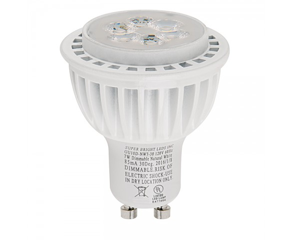 GU10 LED Bulb - 55W Equivalent - Dimmable Bi-Pin Bulb