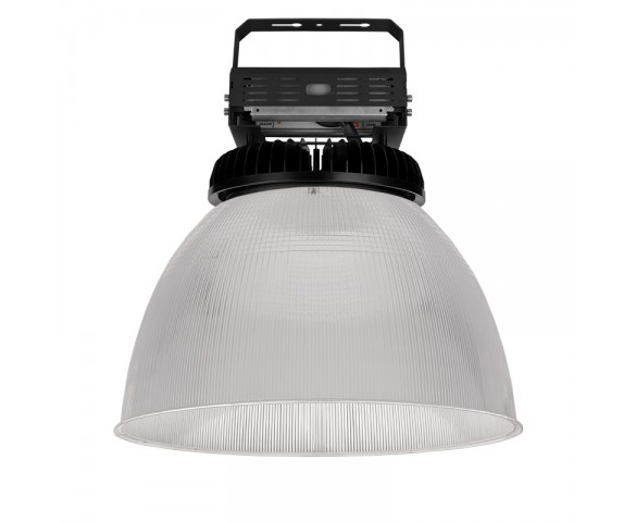 400W UFO LED High Bay Light w/ Reflector - 52,000 Lumens - 200-480 VAC - 1,500W Metal Halide Equivalent - 5000K