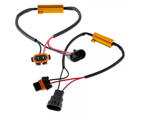 Headlight Load Resistor Kit - H10 Connection
