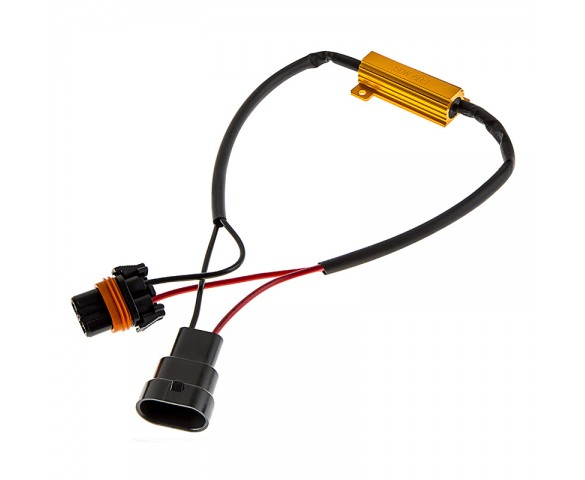 Motorcycle Headlight Load Resistor - H10 LED Headlight Bulbs
