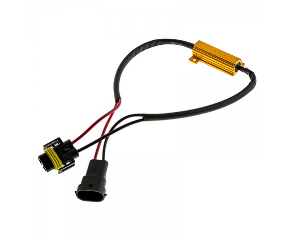 Motorcycle Headlight Load Resistor - H11 LED Headlight Bulbs