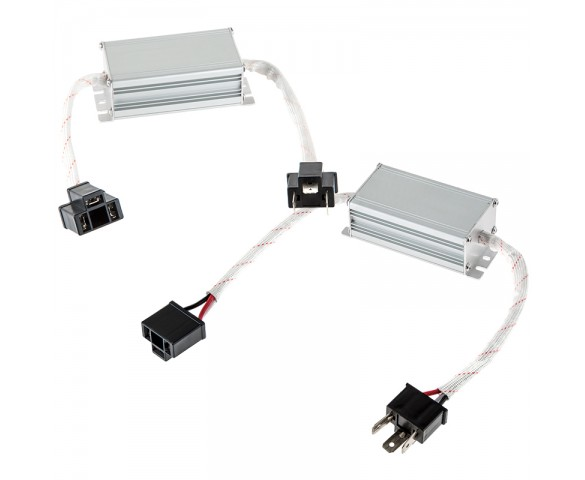 Headlight Load Resistor Kit - H4 Connection: