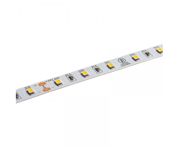 2835 Single-Color High-CRI LED Strip Light - Custom Length Tape Light - 24V - IP20 - 265 lm/ft