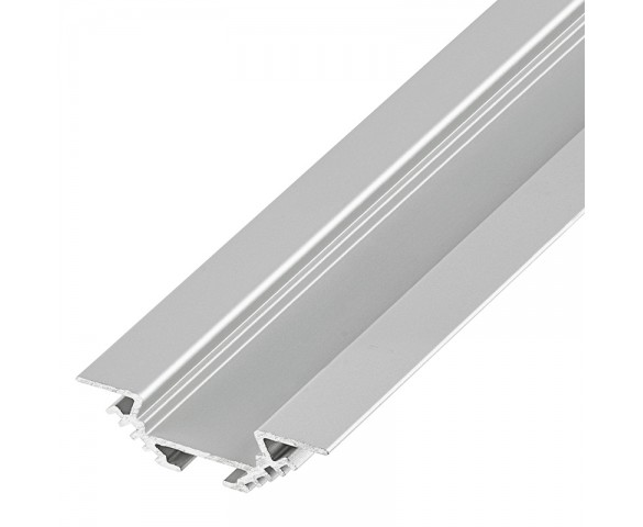 Klus B4370ANODA-1M - PAC-ALU series Angled Corner Mount Aluminum LED Profile Housing