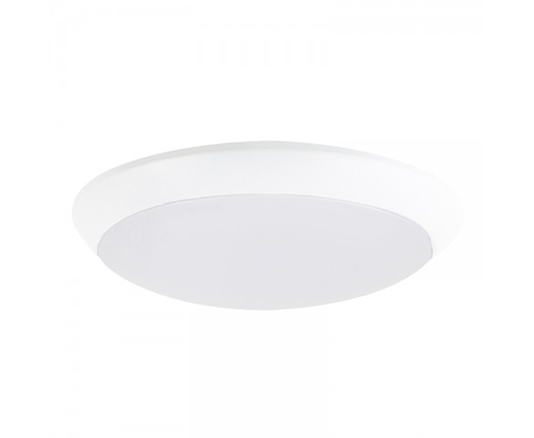 "5-1/2"" Flush Mount LED Ceiling Light - 80 Watt Equivalent - Dimmable"