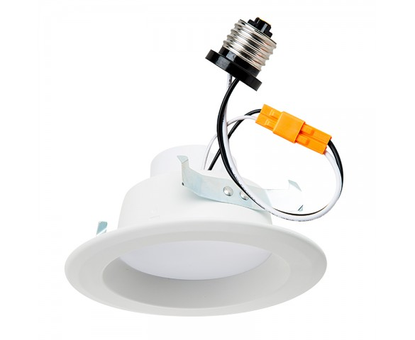 "LED Can Light Retrofit for 4"" Fixtures - 60 Watt Equivalent - LED Can Light Conversion Kit - Dimmable"