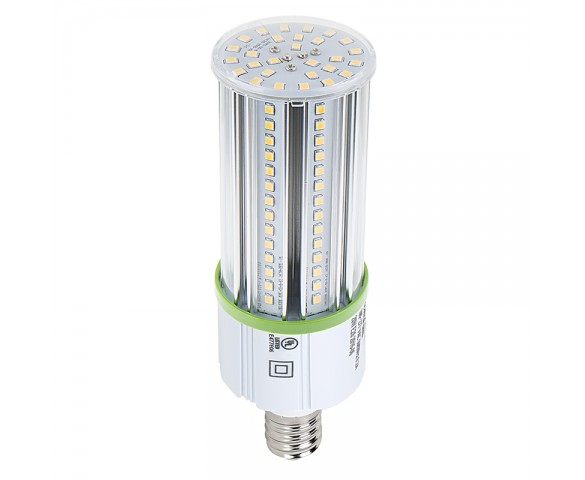 20W LED Corn Bulb - 2600 Lumens - 50W Metal Halide Equivalent - E26/E27 Medium Screw Base - 3000K/4000K