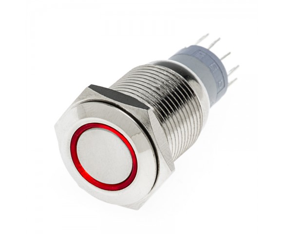 LED Indicator CPBT Push Button Switch