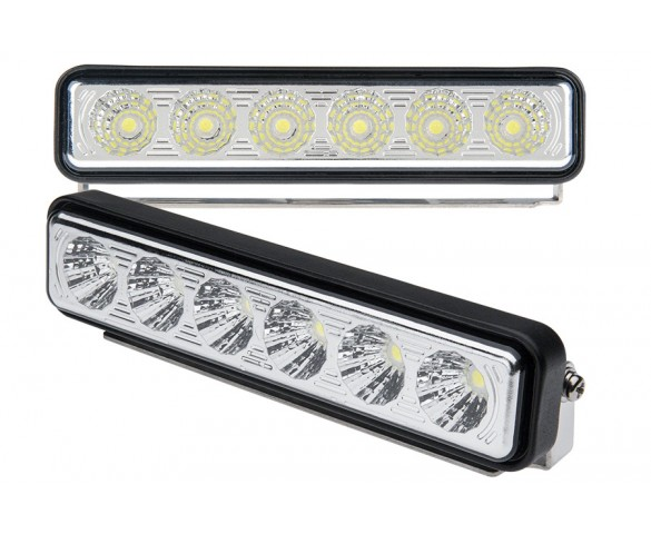 LED Daytime Running Light Set - Bottom Mount, 6W