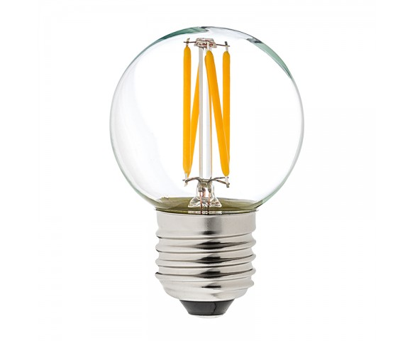LED Filament Bulb - G16 LED Bulb with 4 Watt Filament LED - Dimmable