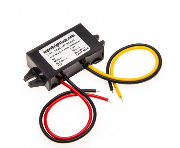 12V to 5V Static Power Converter