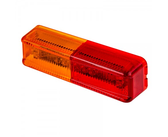 LED Trailer Fender Light -  LED Marker Clearance Light with Red and Amber LEDs