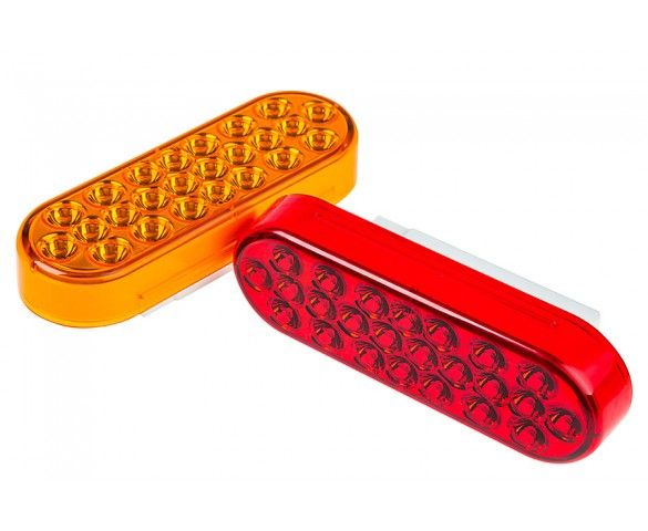PT-STRB series Truck Strobe Light: Available In Red & Amber