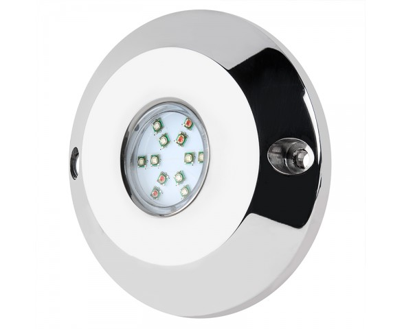 LED Underwater Boat Lights and Dock Lights - RGB Single Lens - 60W