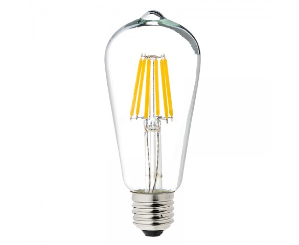 LED Vintage Light Bulb - ST18 LED Bulb w/ Filament LED - 5W