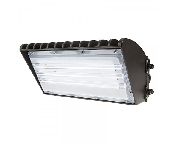Semi Cutoff LED Wall Pack - 70W (175W MH Equivalent) - 5000K/4000K - 8,200 Lumens