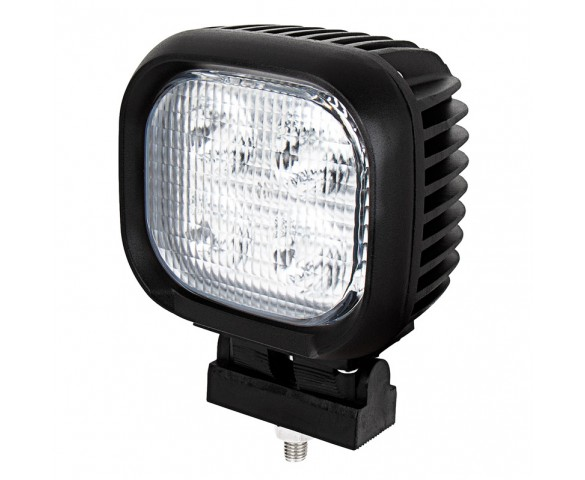 "LED Work Light - 4"" Square - 40W - 4,000 Lumens"