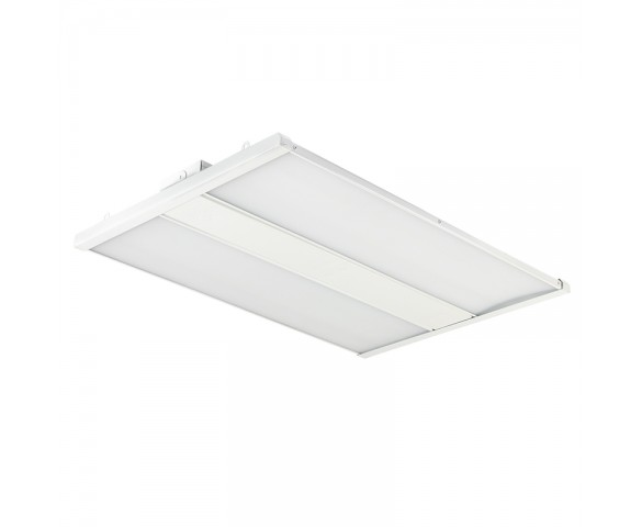 165W LED Linear High Bay Light - 21,450 Lumens - 2ft - 400W Metal Halide Equivalent - 5000K
