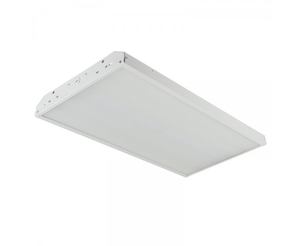 80W LED Linear High Bay Light - 5-Lamp F24T5HO/7-Lamp F17T8 Equivalent - 10,400 Lumens - 5000K - 2x1