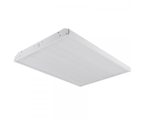 165W LED Linear High Bay Light - 11-Lamp F24T5HO/15-Lamp F17T8 Equivalent - 21,500 Lumens - 5000K - 2x2
