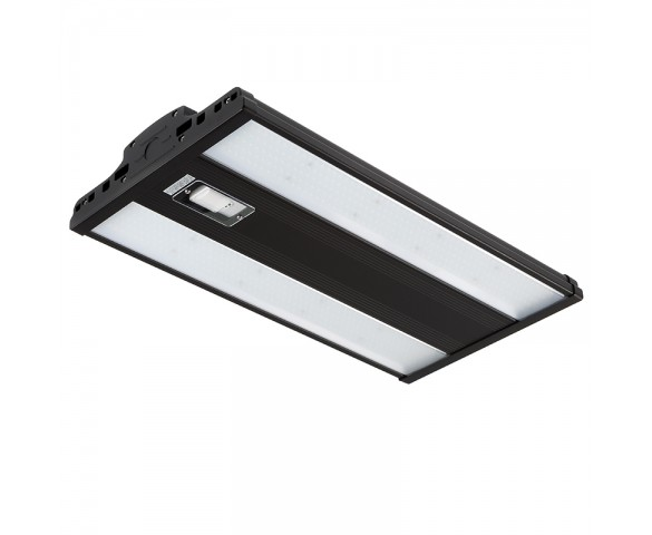 165W LED Linear High Bay - Programmable Microwave Motion Sensor - 21,500 Lumens - 2ft - 400W Metal Halide Equivalent - 5000K