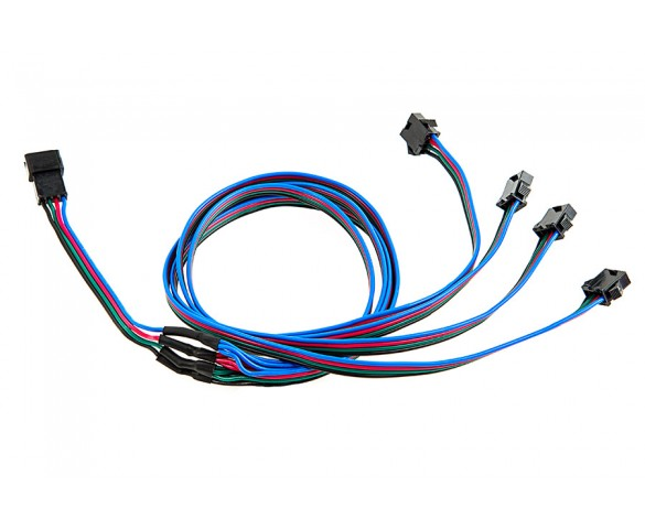 LC4 Locking Connector Splitter Cable: 1 to 4 Splitter Cable