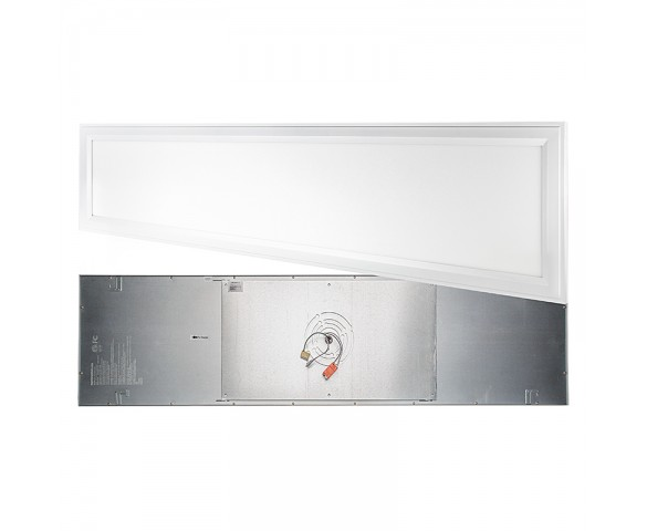 LED Panel Light - 1x4 - 4,100 Lumens - 40W Dimmable Even-Glow® Light Fixture - Flush Mount