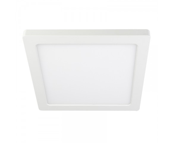 "9"" Square LED Downlight - 18W Flush Mount Ceiling Light - 1440 Lumens - Dimmable - 4000K"