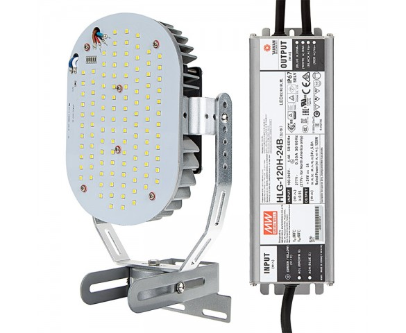 100W LED Retrofit Kit for 250W Metal Halide Fixtures - 12900 Lumens - 5000K