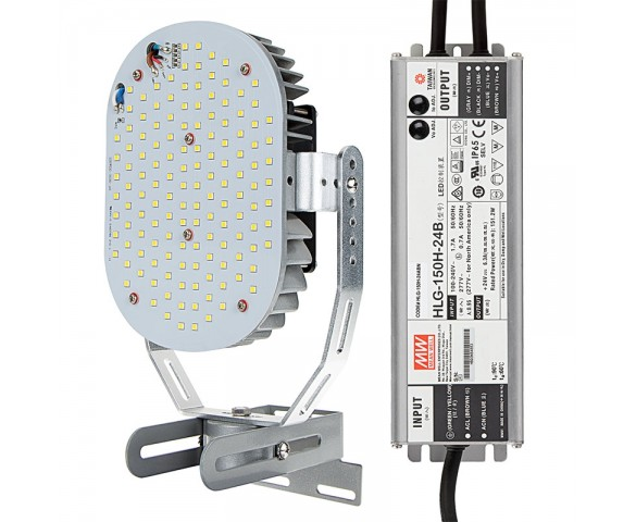 120W LED Retrofit Kit for 400W Metal Halide - 15300 Lumens - 5000K
