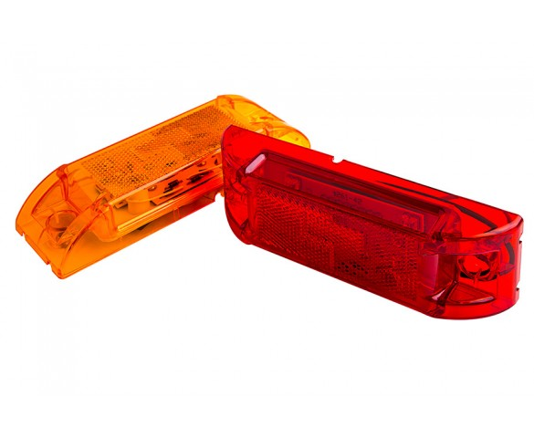 M8 series LED Marker Lamp: Available In Red & Amber