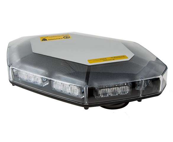 Magnetic Emergency LED Light Bar with Toggle Switch - 360 Degree Strobing LED Mini Lightbar