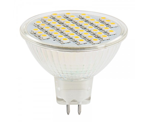 MR16 LED Bulb - 48 SMD LED Flood Light Bi-Pin Bulb