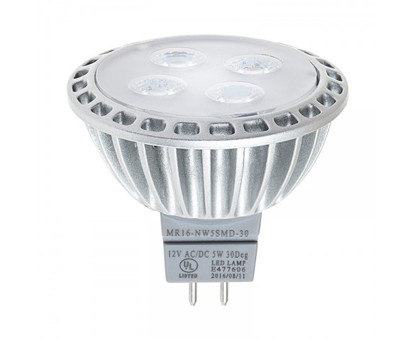 MR16 LED Bulb - 4 LED Spotlight Bi-Pin Bulb