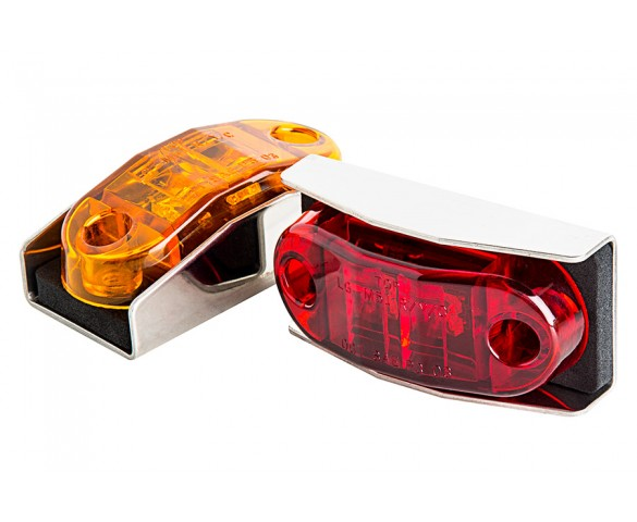 MSS series LED Marker Lamp: Available In Red & Amber
