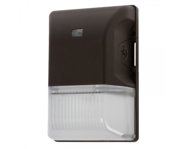 30W Mini LED Wall Pack w/ Integrated Photocell - 3,750 Lumens - 100W Metal Halide Equivalent - 4000K