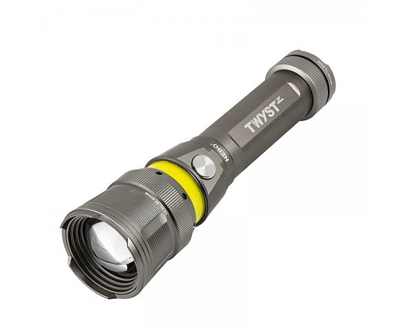 NEBO TWYST Z - LED Flashlight w/ Built-In COB Work Light and Lantern