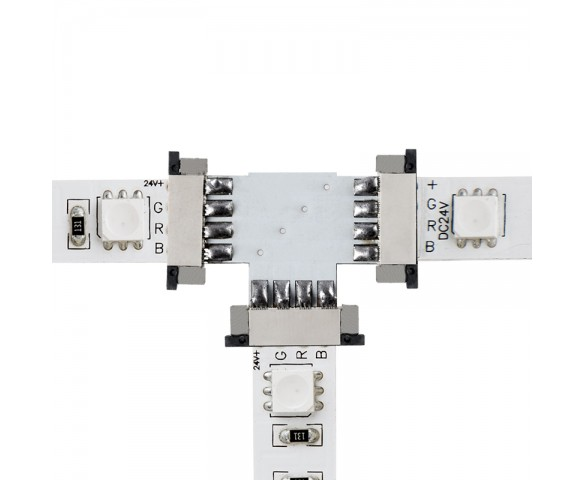 NFLS-4C3C Flexible Light Strip 3-Way Connect