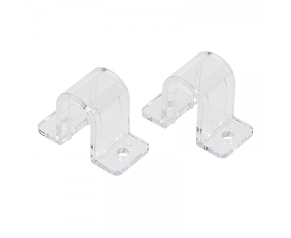 (2) Top Mounting Brackets for Side Bend LED Neon Strip Light